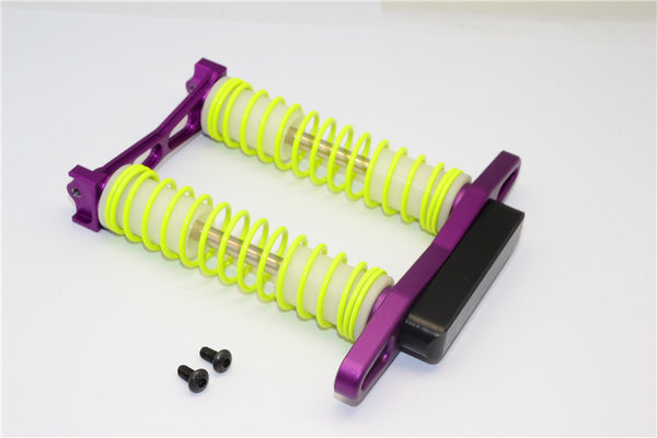 HPI Crawler King Aluminum Rear Bumper Absorber - 1 Set Purple