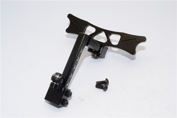 HPI Crawler King Aluminum Adjustable Tow Hitch - 1 Set Black