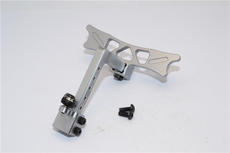 HPI Crawler King Aluminum Adjustable Tow Hitch - 1 Set Gray Silver
