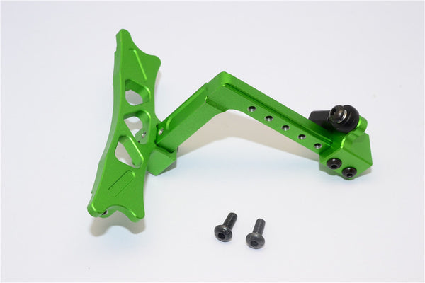 HPI Crawler King Aluminum Adjustable Tow Hitch - 1 Set Green