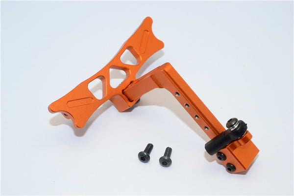 HPI Crawler King Aluminum Adjustable Tow Hitch - 1 Set Orange