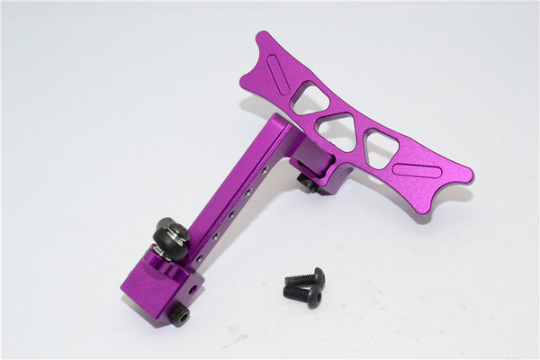 HPI Crawler King Aluminum Adjustable Tow Hitch - 1 Set Purple