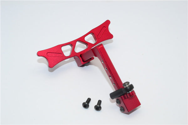 HPI Crawler King Aluminum Adjustable Tow Hitch - 1 Set Red