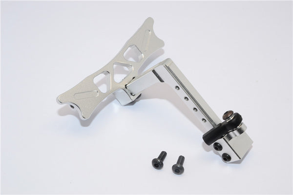 HPI Crawler King Aluminum Adjustable Tow Hitch - 1 Set Silver