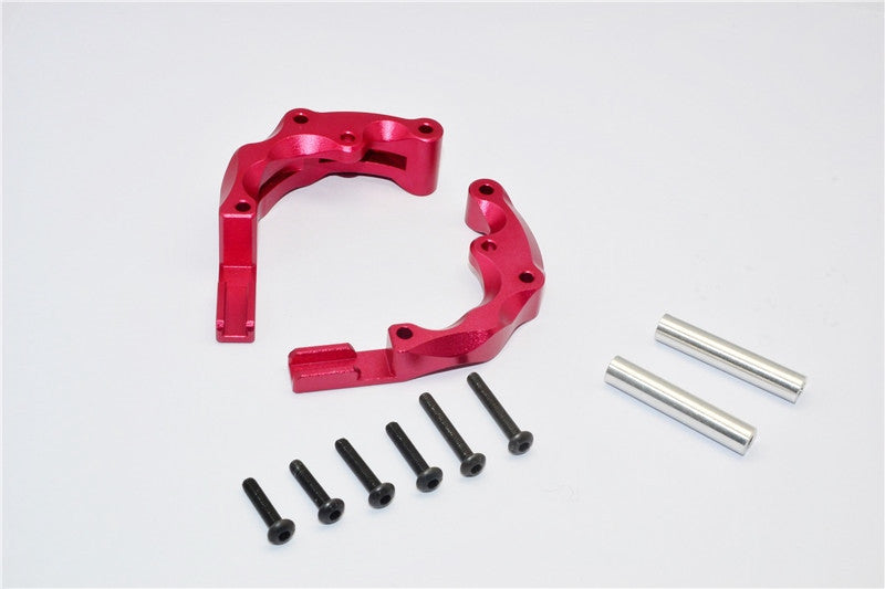 Traxxas Craniac Aluminum Rear Link Parts - 2Pcs Set Red