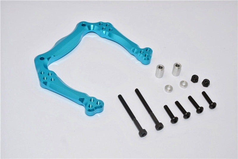 Traxxas Craniac Aluminum Front Shock Tower - 1Pc Set Sky Blue