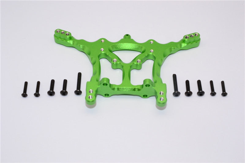 Traxxas Craniac Aluminum Rear Shock Tower - 1Pc Set Green