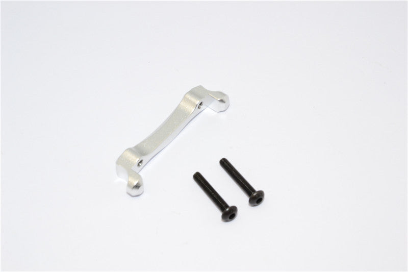 Traxxas Craniac Aluminum Rear Shock Stay Mount - 1Pc Set Silver