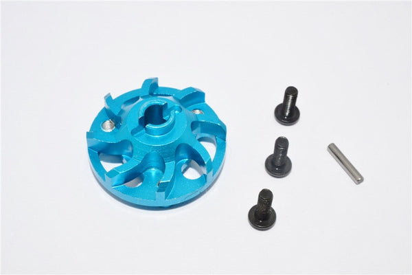 Traxxas Craniac Aluminum Spur Gear Adapter (For Original Spur Gear) - 1Pc Set Sky Blue