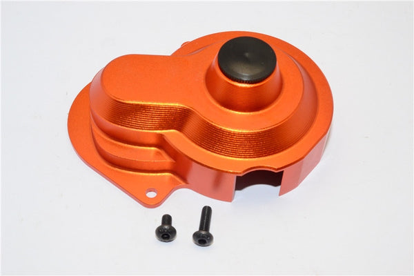 Traxxas Craniac Aluminum Transmission Spur Gear Cover - 1Pc Set Orange