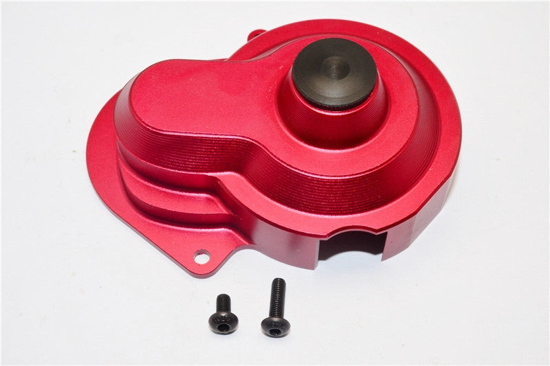 Traxxas Craniac Aluminum Transmission Spur Gear Cover - 1Pc Set Red