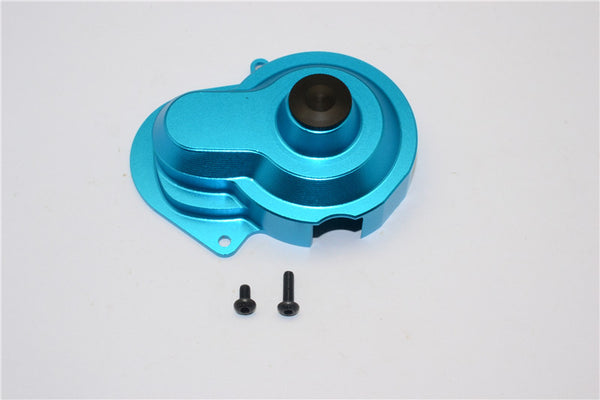 Traxxas Craniac Aluminum Transmission Spur Gear Cover - 1Pc Set Sky Blue