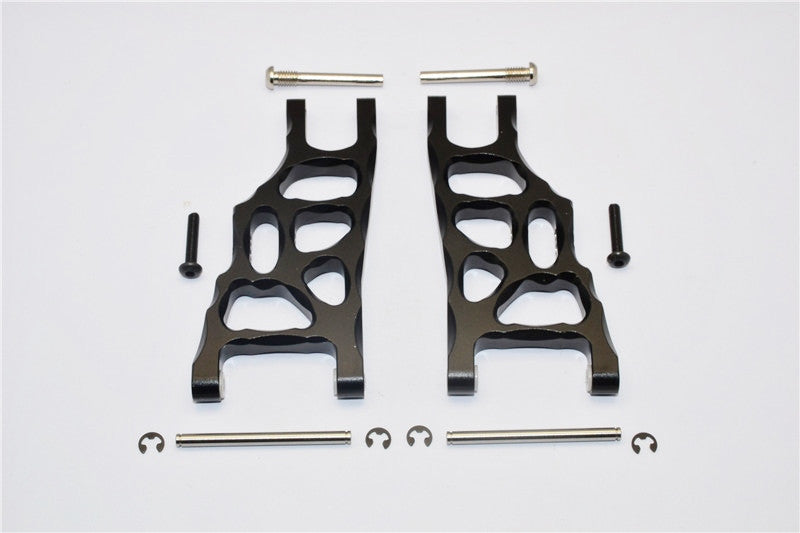 Traxxas Craniac Aluminum Front Suspension Arm - 1Pr Set Black