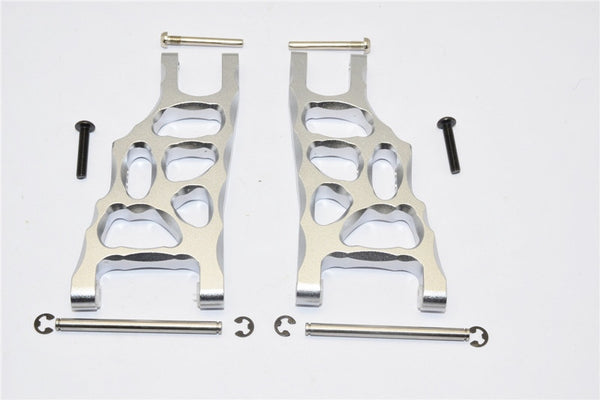 Traxxas Craniac Aluminum Front Suspension Arm - 1Pr Set Gray Silver