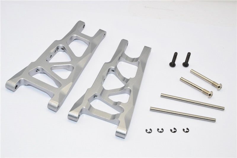 Traxxas Craniac Aluminum Rear Suspension Arm - 1Pr Set Gray Silver