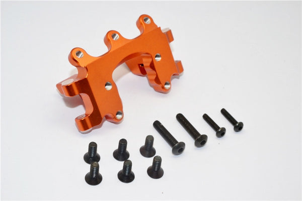 Traxxas Craniac Aluminum Front Bumper Mount - 1Pc Set Orange
