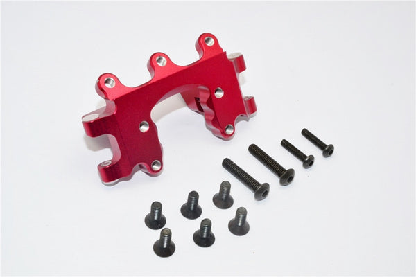 Traxxas Craniac Aluminum Front Bumper Mount - 1Pc Set Red