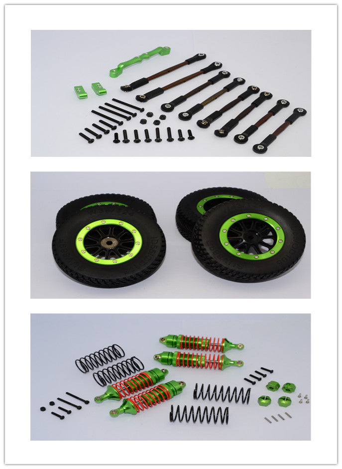 Traxxas Craniac On-Road Setting Component Combo Pack (Plastic Wheels 10 Poles) - 1 Set Green