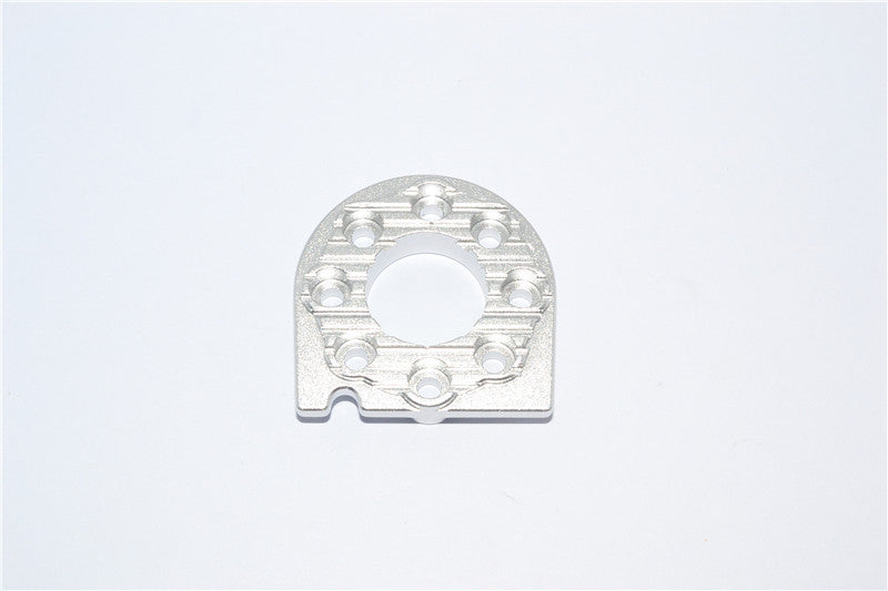 Tamiya DF-02 Aluminum Motor Heat Sink Mount - 1Pc Silver