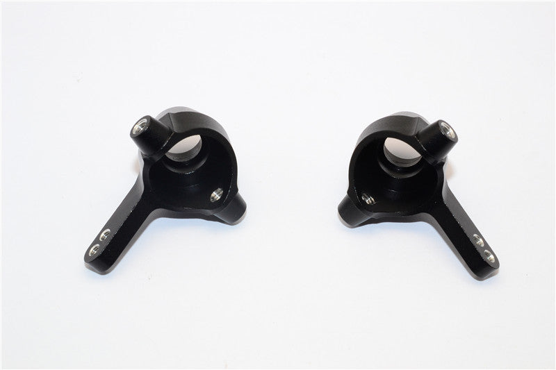 Tamiya DF-02 Aluminum Front Knuckle Arm - 1Pr Black