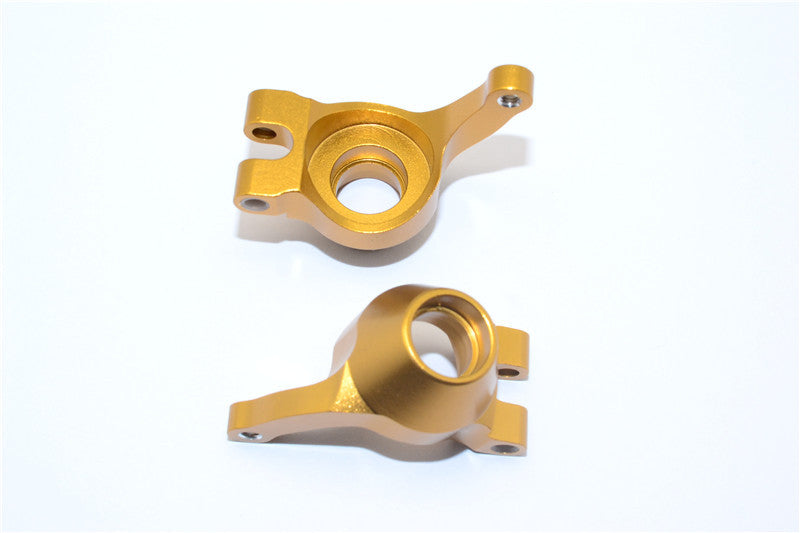 Tamiya DF-02 Aluminum Rear Knuckle Arm - 1Pr Golden Black
