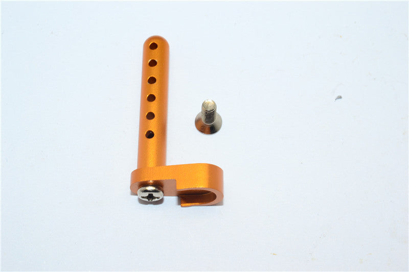 Tamiya DF-02 Aluminum Rear Body Post With Screw - 1Pc Set Gold