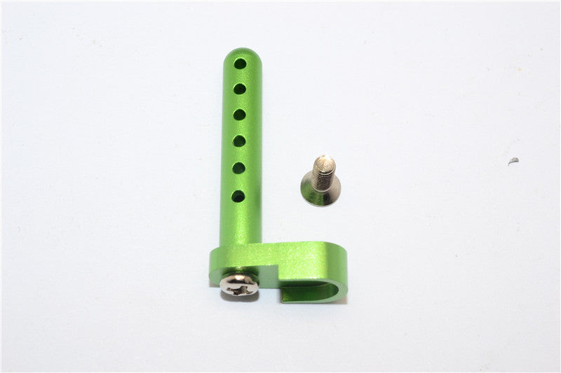 Tamiya DF-02 Aluminum Rear Body Post With Screw - 1Pc Set Green