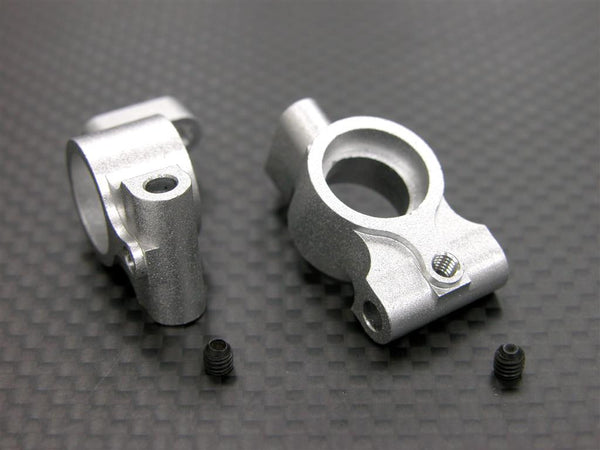 Tamiya DF-03 Aluminum Rear Knuckle Arm - 1Pr Silver