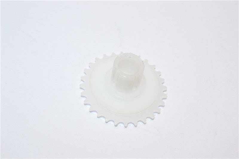 Kyosho Motorcycle NSR500 Delrin Rear Gear - 1Pc White