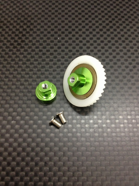 Kyosho Mini Inferno Delrin Front/Rear Ball Differential With Screws - 1 Completed Set Green