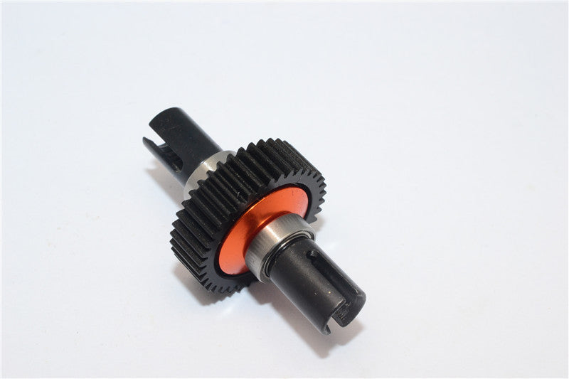Team Losi Mini-T Steel Hub+Delrin Ball Differential Completed Set With Bearing (Special Design)- 1 Set Orange