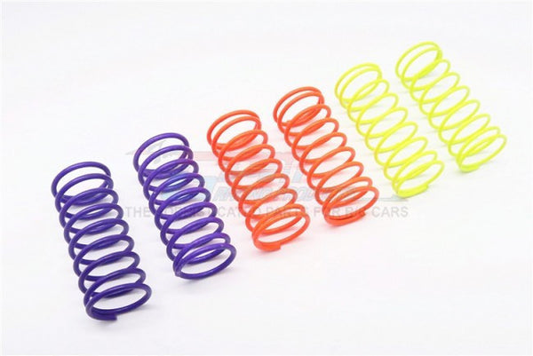 1.2+1.3+1.4mm Flu Color Damper Spring Set 40mm - 3Prs