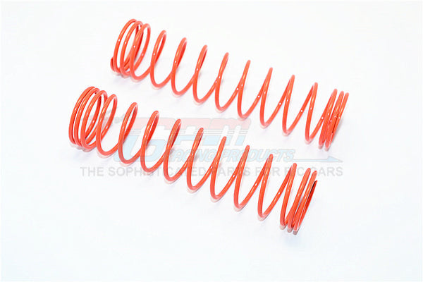 107mm Long 2.0 Coil Springs (Inner Dia. 23mm, Outer Dia. 27.5mm) - 1Pr Orange