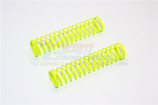 75mm Long 1.2 Coil Springs (Inner Dia. 14.2mm, Outer Dia. 16.8mm) - 1Pr Yellow