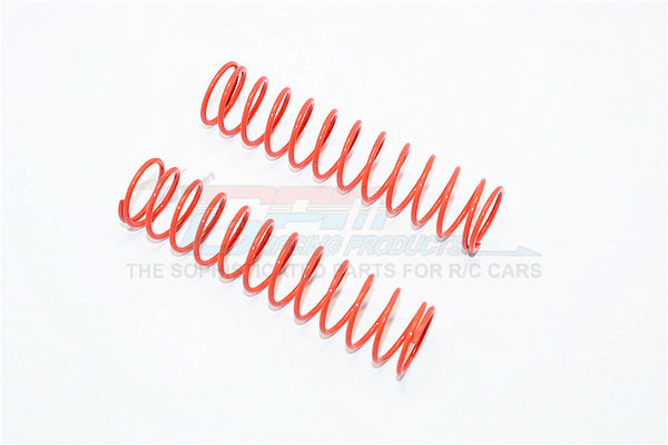 84mm Long 1.6 Coil Springs (Inner Dia. 16.4mm, Outer Dia. 19.7mm) - 1Pr Orange