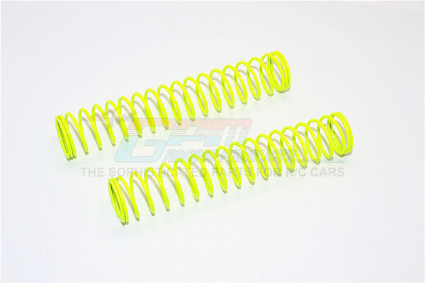 94mm Long 1.2 Coil Springs (Inner Dia. 14.2mm, Outer Dia. 16.8mm) - 1Pr Yellow