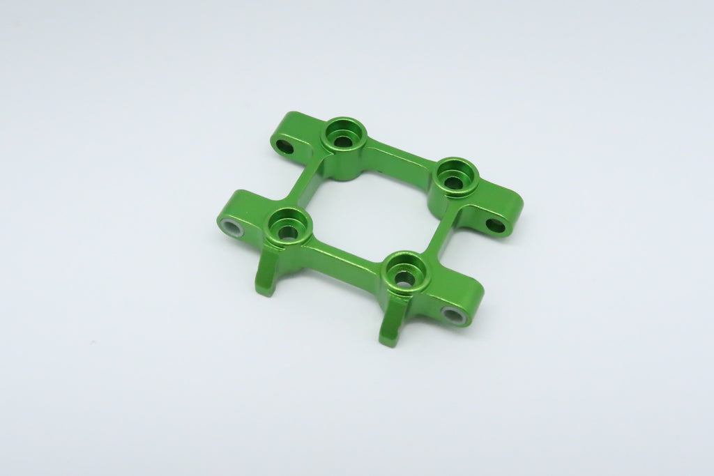 Tamiya DT-03 Aluminum Front Suspension Arm Mount - 1Pc Green