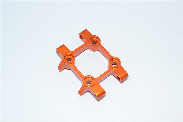 Tamiya DT-03 Aluminum Front Suspension Arm Mount - 1Pc Orange