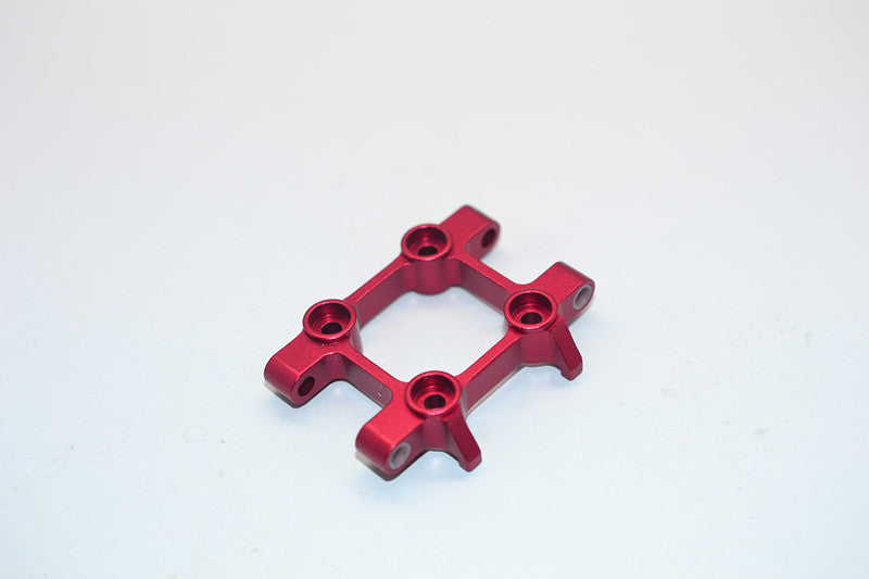 Tamiya DT-03 Aluminum Front Suspension Arm Mount - 1Pc Red