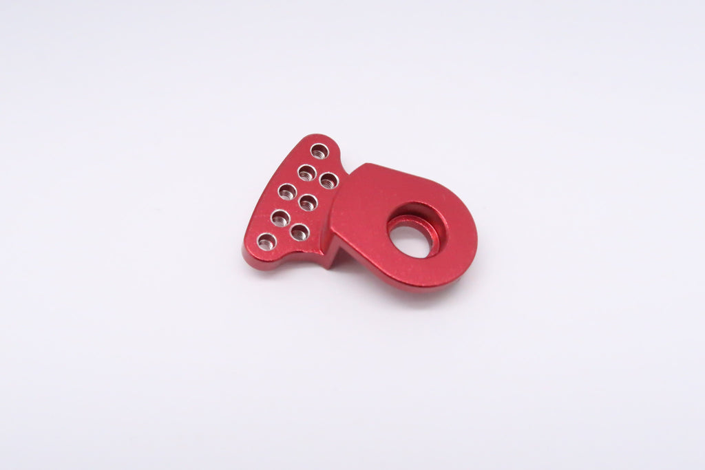 Tamiya DT-03 Aluminum Servo Saver (2mm Thread) - 1Pc Red