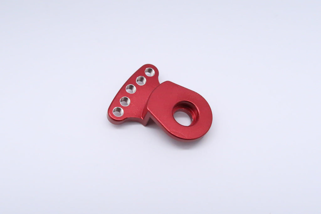 Tamiya DT-03 Aluminum Servo Saver (3mm Thread) - 1Pc Red