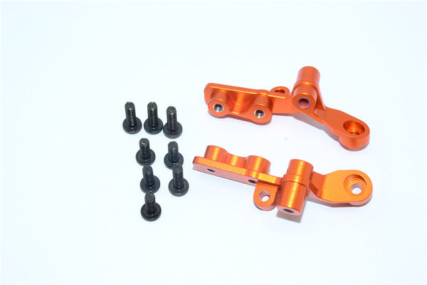 Tamiya DT-03 Aluminum Front Rocker Arm - 1Pr Set Orange