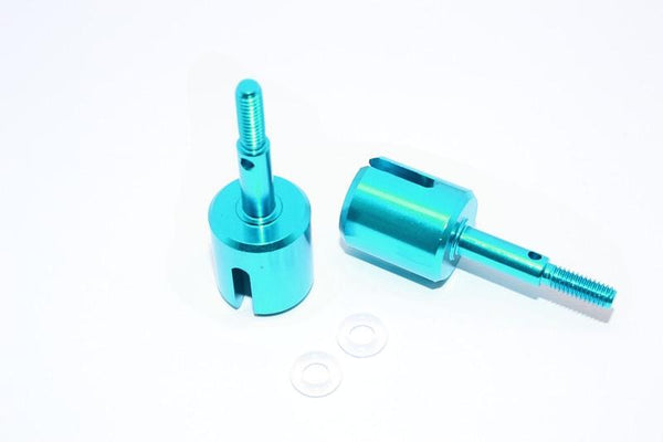 Tamiya DT-03 Aluminum Wheel Joint - 1Pr Sky Blue