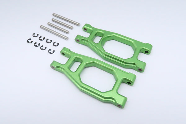 Tamiya DT-03 Aluminum Front Adjustable Upper Arm - 1Pr Green