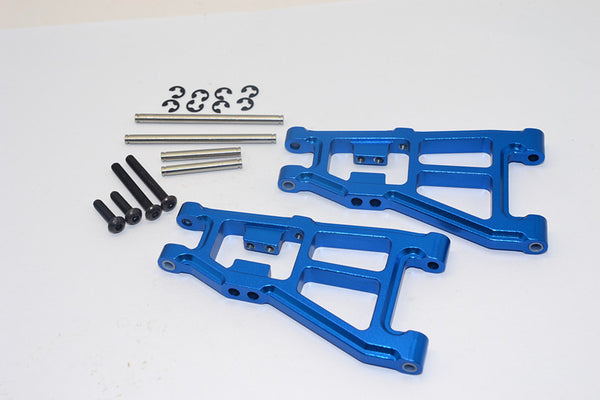 Tamiya DT-03 Aluminum Front Lower Suspension Arm - 1Pr Blue
