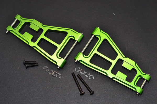 Tamiya DT-03 Aluminum Front Lower Suspension Arm - 1Pr Green