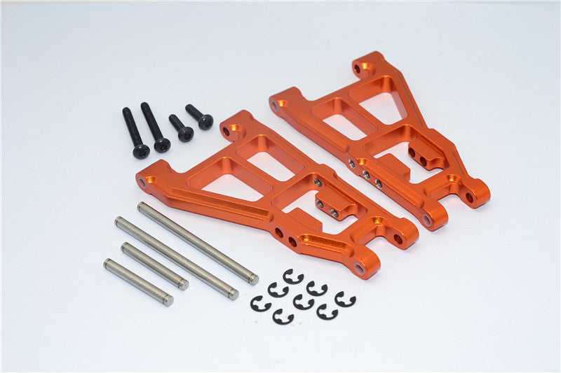 Tamiya DT-03 Aluminum Front Lower Suspension Arm - 1Pr Orange