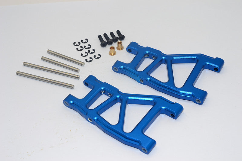Tamiya DT-03 Aluminum Rear Lower Suspension Arm - 1Pr Blue