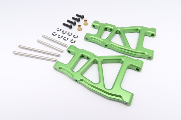 Tamiya DT-03 Aluminum Rear Lower Suspension Arm - 1Pr Green