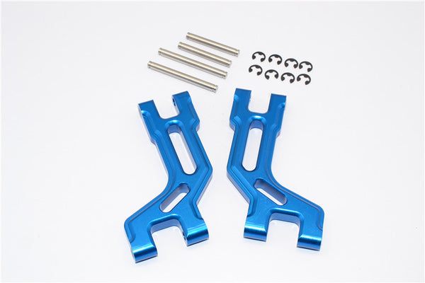 Tamiya DT-03 Aluminum Rear Upper Arm - 1Pr Blue